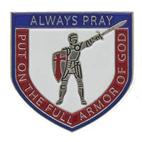 Armor of God Always Pray Pin