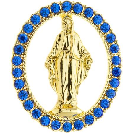 Miraculous Medal Lapel Pin