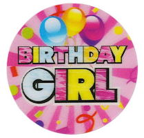 Birthday Badge (Boy or Girl) - Pkg of 12
