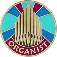 Organist Pin