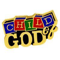 Child of God Pin