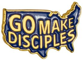 go make disciples lapel pins