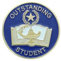 School Outstanding Student Pins