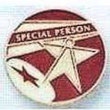 Special Person Award Lapel Pin