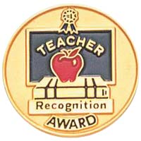 Teacher Recognition Award Pin