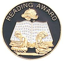 Reading Award Lapel Pin