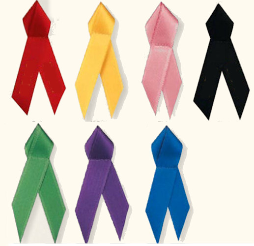 Cloth Ribbons for Lapel Pins (Pkg of 25)