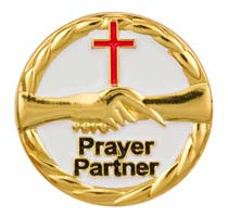 1190 Prayer Partner Lapel Pin