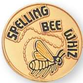 School Spelling Bee Pin