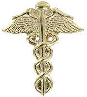 Gold Medical Pins