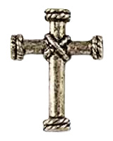Silver Cross Rope Center Pin