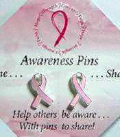 Keep & Share Pink Awareness Pins
