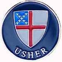 Episcopal  Usher  pin