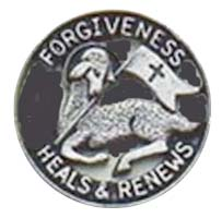 First Penance Lamb Pin Forgiveness