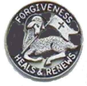 First Penance Lamb Pin Forgiveness