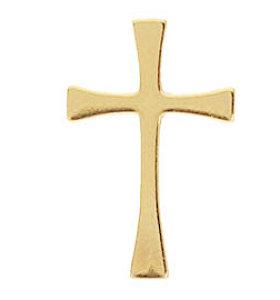 Gold Maltese Cross Lapel Pins