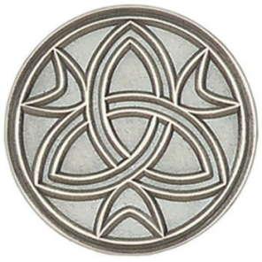 Trinity Pin Silver