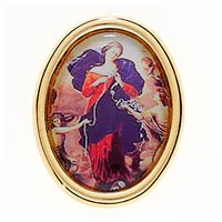 Our Lady Untier Undoer of Knots Pin