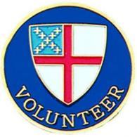 Episcopal Volunteer Pin
