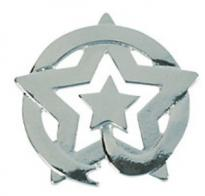 Star Recognition Pins Silver - Pack  of 12