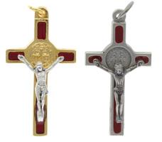 St Benedict Crucifix Necklace - St Benedict Pendant