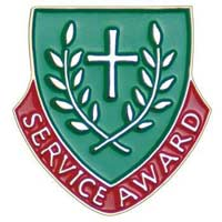Service Award Lapel Pin Christian