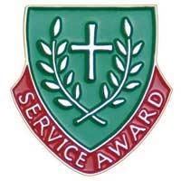 Service Award Lapel Pin Christian
