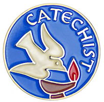 Catechist Lapel Pin with Dove