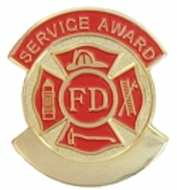 Fire Service Award Year Pins