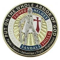 Whole Armor of God Pin - Armor of God Enamel Pin