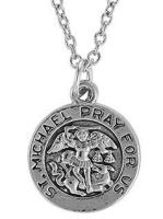 St. Michael Pray for Us Pendant