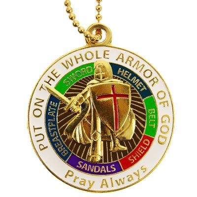 Whole Armor Of God Necklace