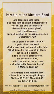 Faith Mustard Seed Card