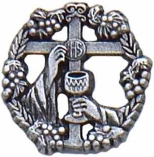 Chalice and Cross Communion Pin
