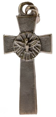 Confirmation Necklace Cross Pewter