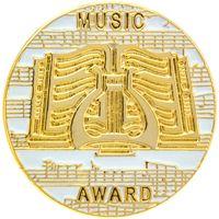 Music Award Pins Gold