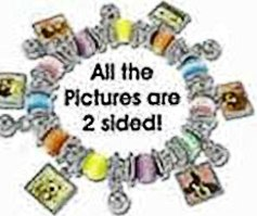 Dog Lover Pictures Stretch Bracelet