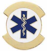 Paramedic Pin - EMT Gold
