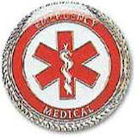 Emergency Medical Worker Pins Gold