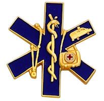Emergency Medic Pins Gold