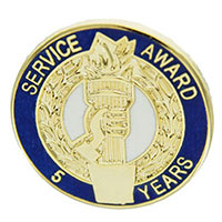 Service Award Pin Numbers  Years of Service