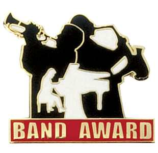 Band Award  pins
