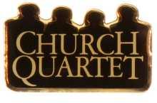 Church Quartet Pins Gold