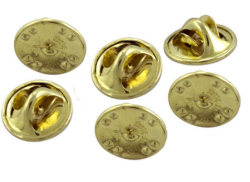 Clutch Pin Backs (Pkg of 6)