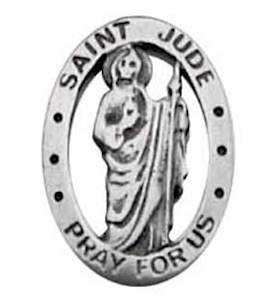 St. Jude Pray For Us Pin