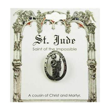 St. Jude Pray For Us Pin Card