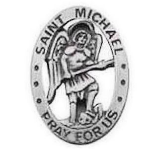 St. Michael Pray For Us Pin
