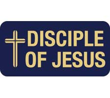 Disciple of Jesus Badge Magnetic