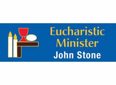 Catholic Magnetic Eucharistic Name Badges