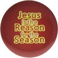 Jesus is the Reason Buttons Large (Pkg of 12)